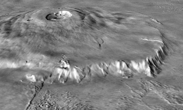 IL MONTE OLIMPO SU MARTE il più grande vulcano del sistema solare. by Andreotti Roberto – INSA.
